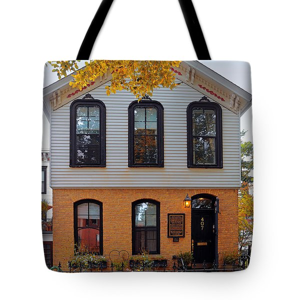 Joseph J O'connell House Chicago Tote Bag by Christine Till
