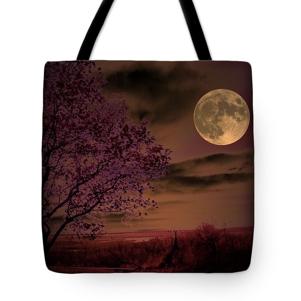 Joshua Tree Tote Bag by Robert McCubbin