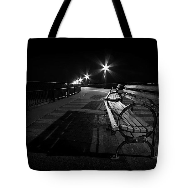 Journey Into Darkness Tote Bag by Evelina Kremsdorf