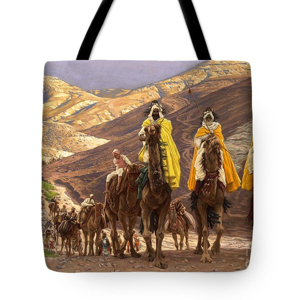 Journey Of The Magi Tote Bag by Tissot