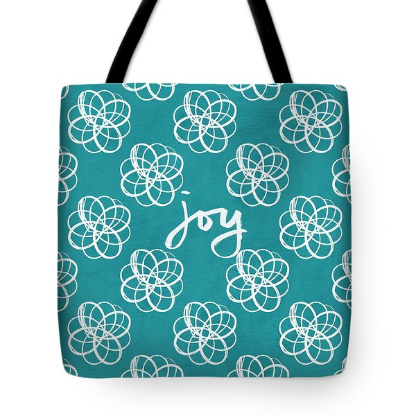 Joy Boho Floral Print Tote Bag by Linda Woods