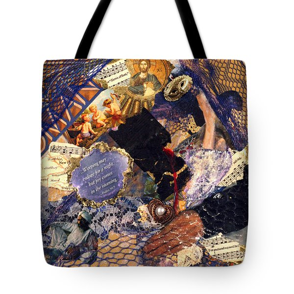 Joy In The Morning Tote Bag by Gail Kirtz