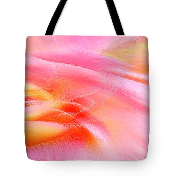 Joy - Rose Tote Bag by Ben and Raisa Gertsberg