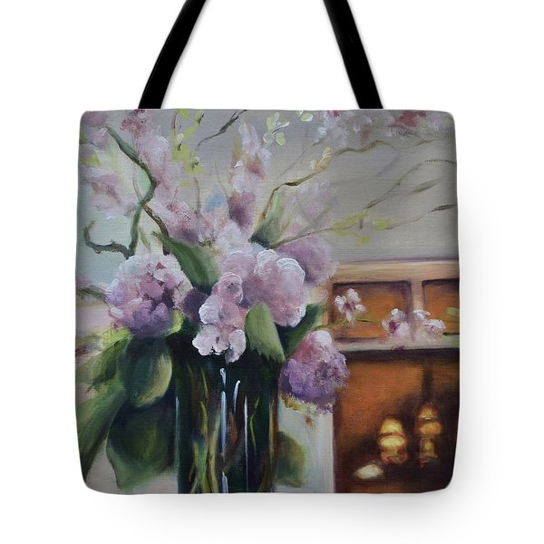 Joyous Occasion Tote Bag by Donna Tuten