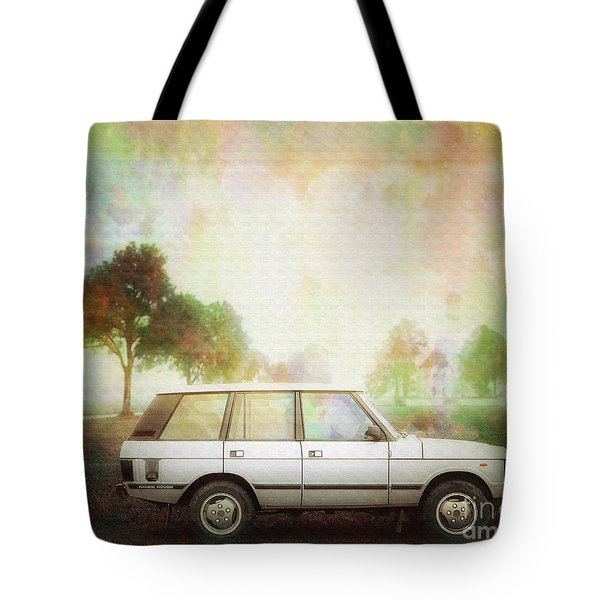 Joys Of Refined Motoring  Tote Bag by Edmund Nagele