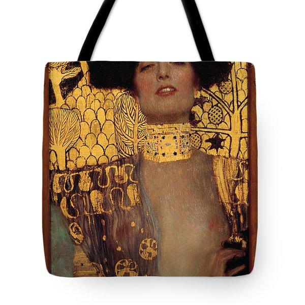 Judith Tote Bag by Gustive Klimt