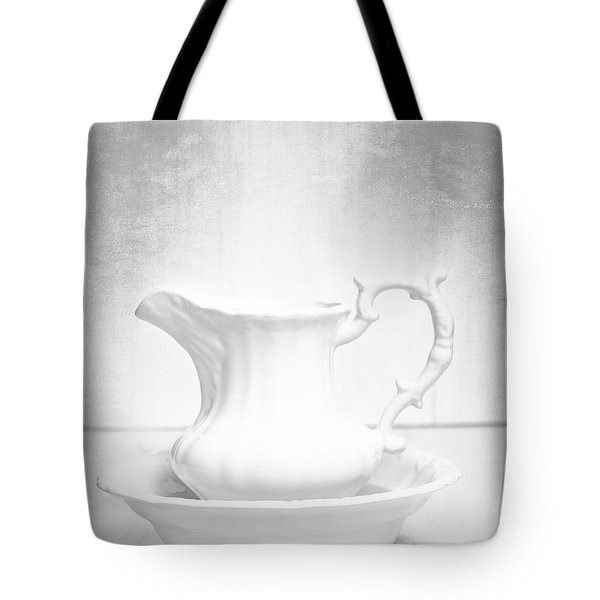Jug And Bowl Tote Bag by Amanda And Christopher Elwell