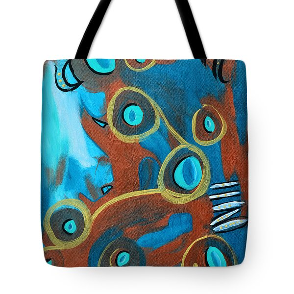 Juggling Act Tote Bag by Donna Blackhall