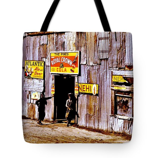 Juke Joint Tote Bag by Benjamin Yeager