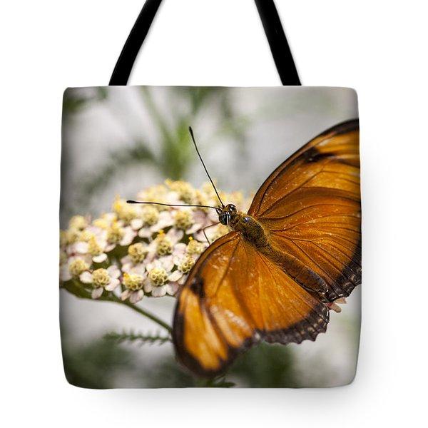 Julia Butterfly Tote Bag by Adam Romanowicz