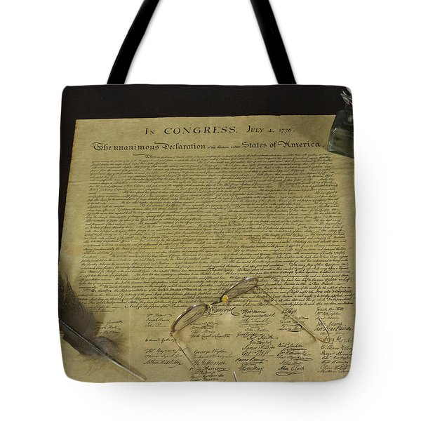 July 4 1776 Tote Bag by Jack R Perry
