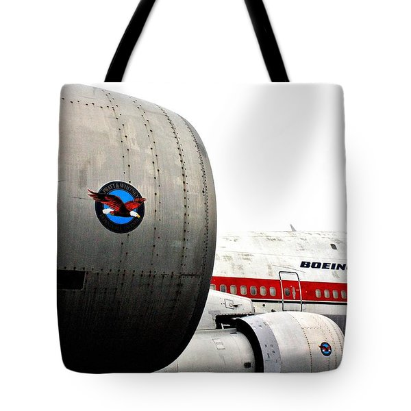 Jumbo Jet Tote Bag by Benjamin Yeager