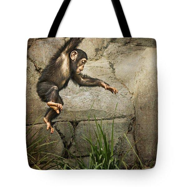 Jump For Joy Tote Bag by Jamie Pham