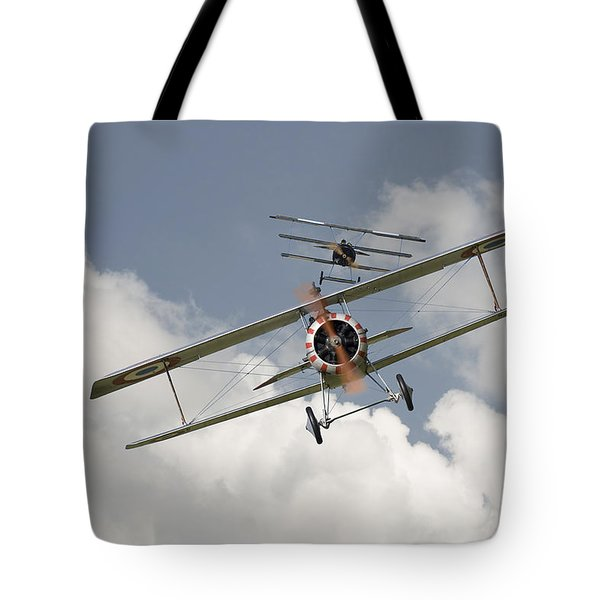 Jumped Tote Bag by Pat Speirs