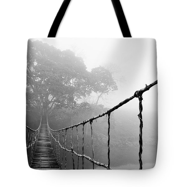 Jungle Journey 5 Tote Bag by Skip Nall