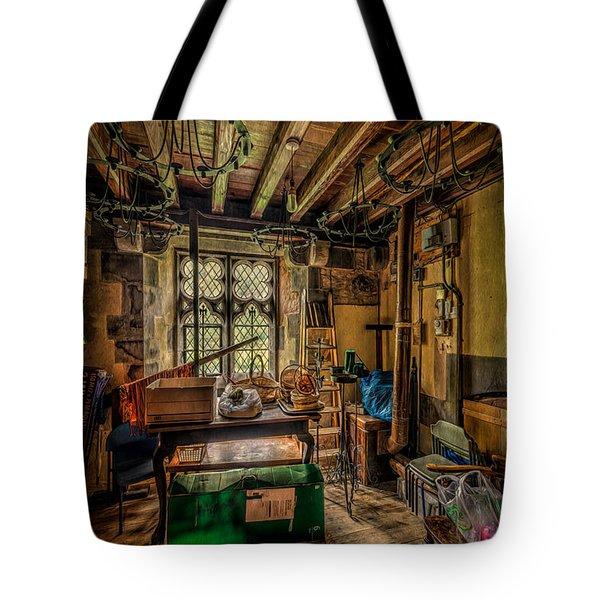 Junk Room Tote Bag by Adrian Evans