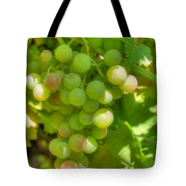 Just A Little More Time On The Vine Tote Bag by Heidi Smith