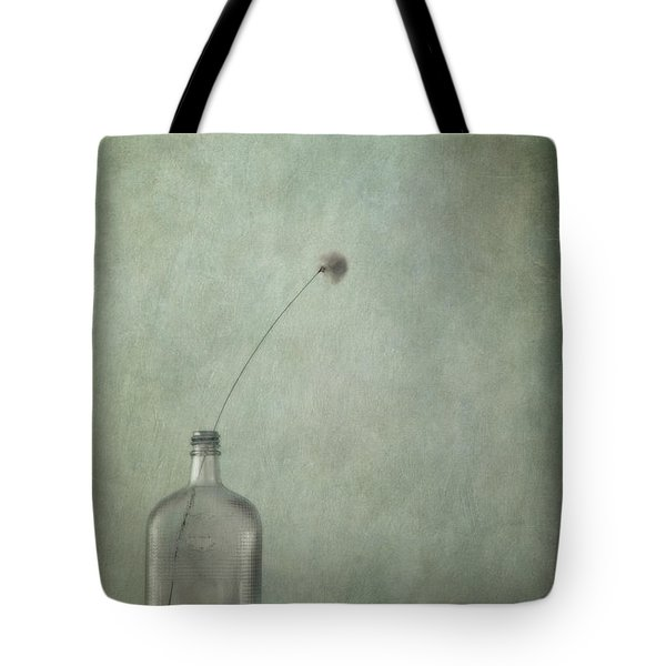 just an old bottle and its cap Tote Bag by Priska Wettstein