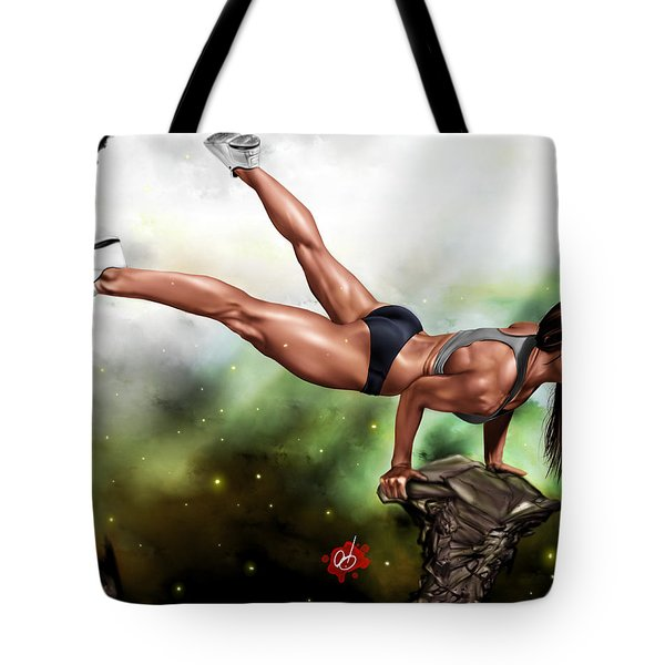 Just Because I Can Tote Bag by Pete Tapang
