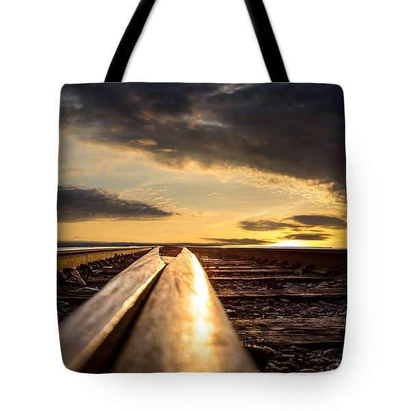 Just before sunrise Tote Bag by Bob Orsillo