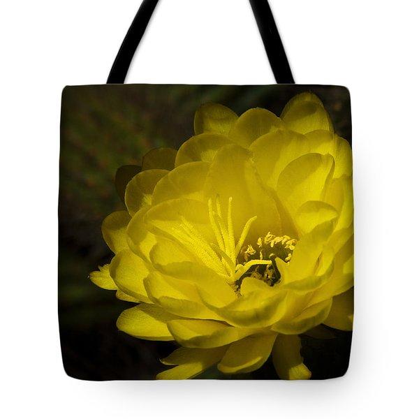 Just Call Me Mellow Yellow  Tote Bag by Saija  Lehtonen