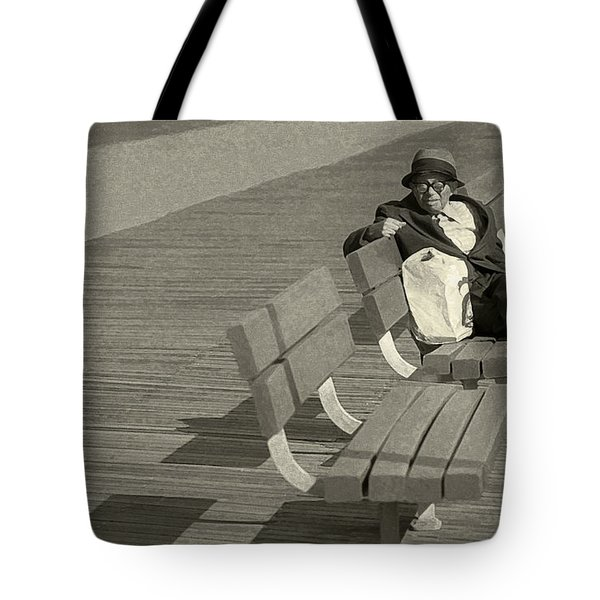 Just Chilling Tote Bag by Jeff Breiman