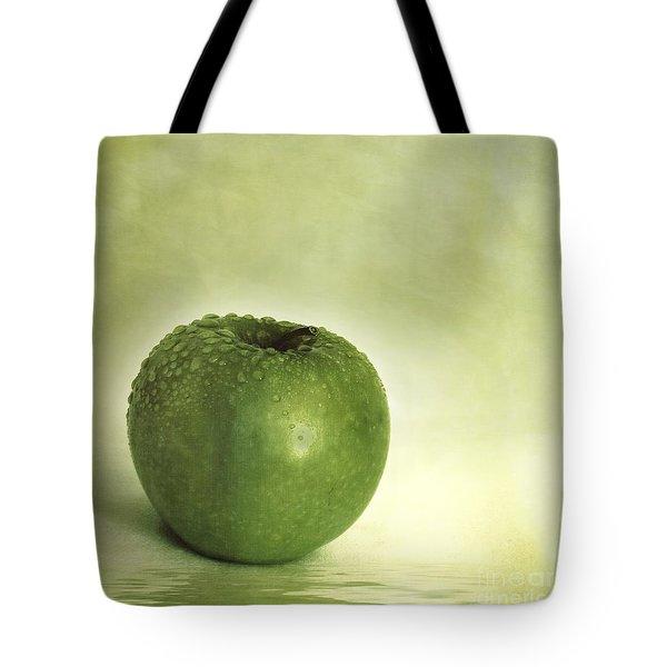 Just Green Tote Bag by Priska Wettstein