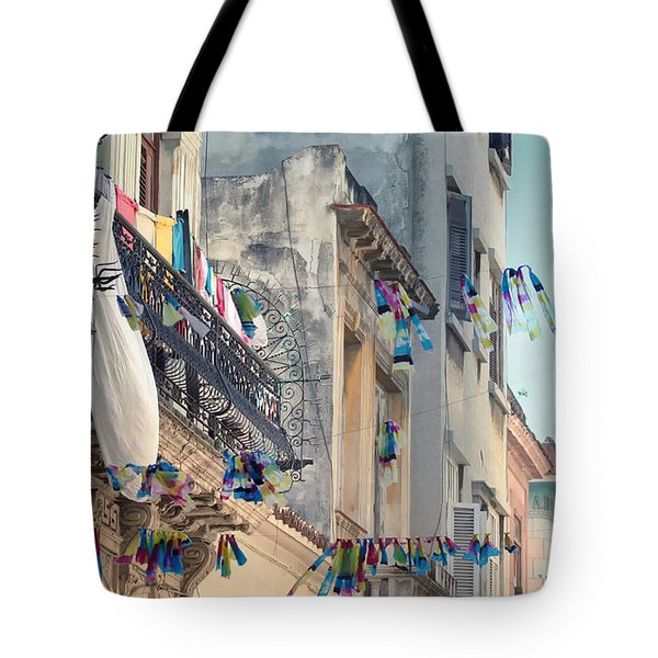 Just Like A Waving Flag.. Tote Bag by A Rey