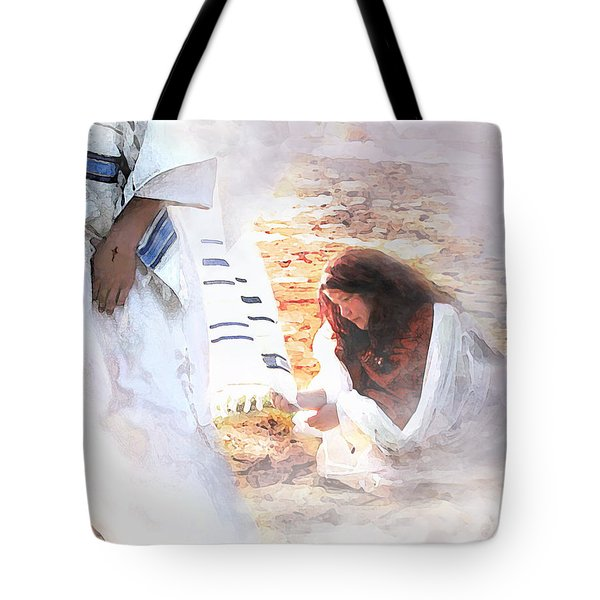 Just One Touch Tote Bag by Jennifer Page
