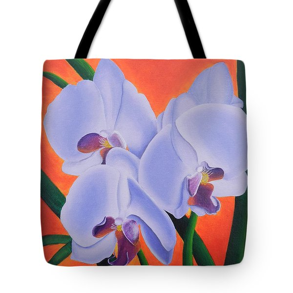 Just The Three Of Us Tote Bag by Leana De Villiers