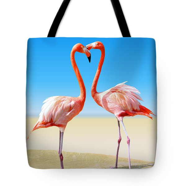 Just We Two Tote Bag by Kristin Elmquist