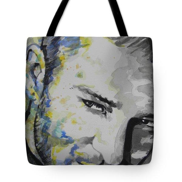 Justin Timberlake...02 Tote Bag by Chrisann Ellis