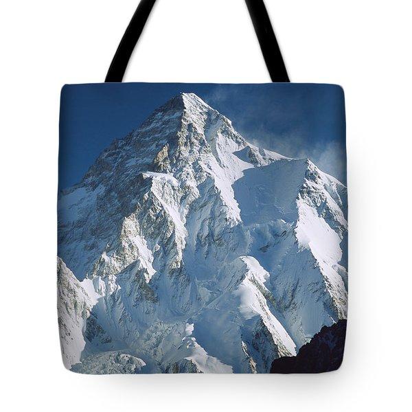 K2 At Dawn Pakistan Tote Bag by Colin Monteath