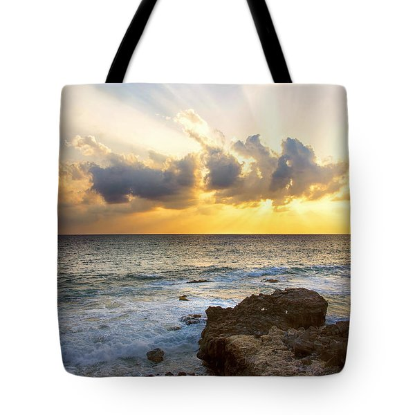Kaena Point State Park Sunset 2 - Oahu Hawaii Tote Bag by Brian Harig