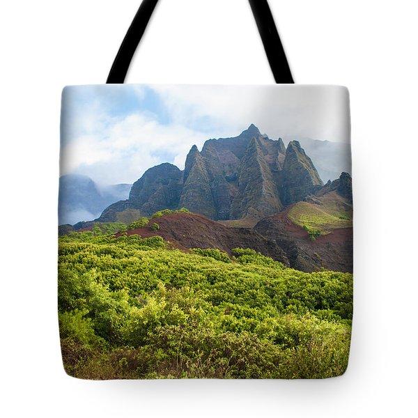 Kalalau Valley - Kauai Hawaii Tote Bag by Brian Harig