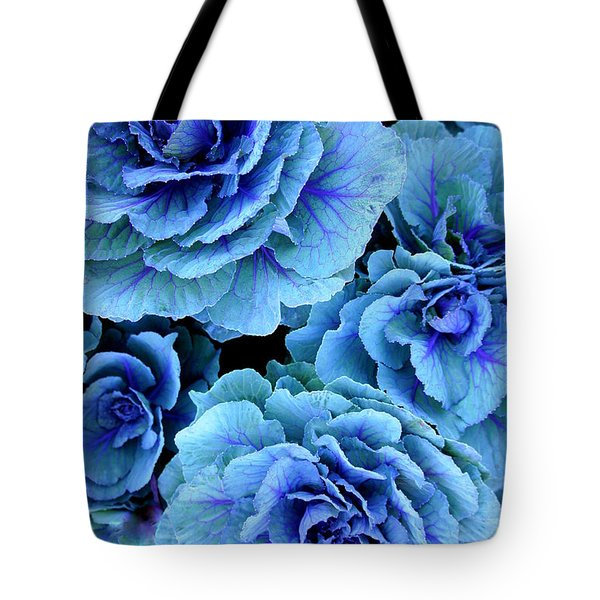 Kale Tote Bag by Laurie Perry