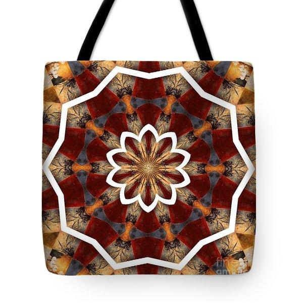 Kaleidoscope 29 Tote Bag by Lena Photo Art