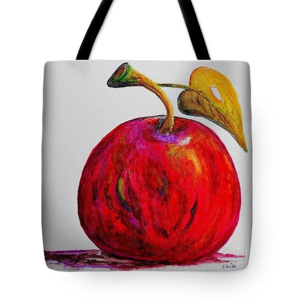 Kaleidoscope APPLE -- or -- Apple for the Teacher  Tote Bag by Eloise Schneider