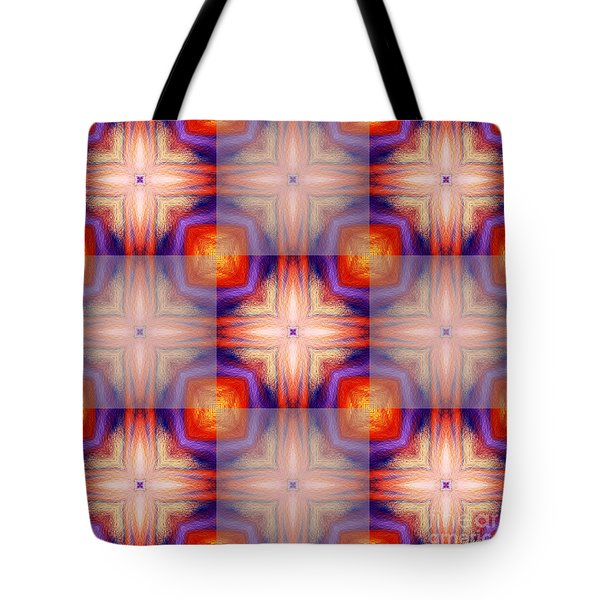 Kaleidoscope Combo 5 Tote Bag by Louise Lamirande