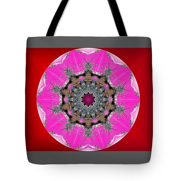 Kaleidoscope Tote Bag by Mike Breau