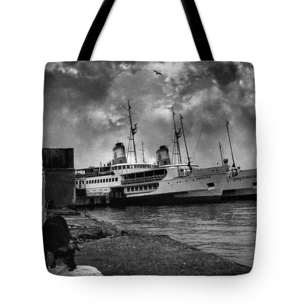 Kanlica Tote Bag by Taylan Soyturk