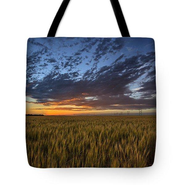 Kansas Color Tote Bag by Thomas Zimmerman
