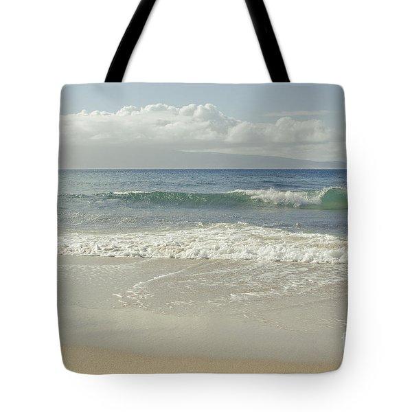 Kapalua - Aia I Laila Ke Aloha - Honokahua - Love Is There - Mau Tote Bag by Sharon Mau