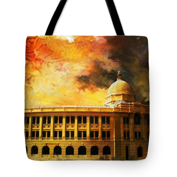 Karachi Port Tote Bag by Catf