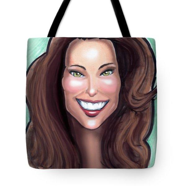 Kate Middleton Tote Bag by Kevin Middleton