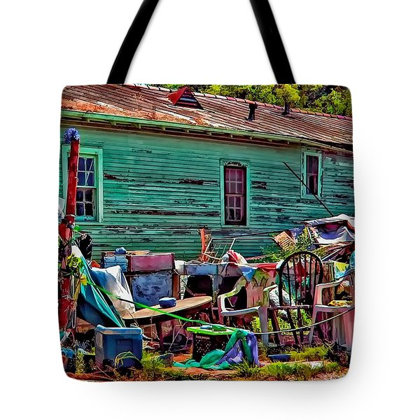 Katrina Memory Tote Bag by Steve Harrington