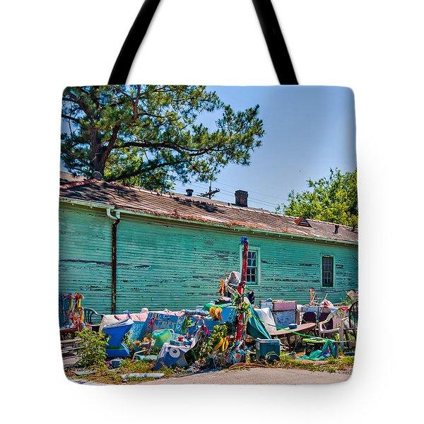 Katrina's Wrath Tote Bag by Steve Harrington