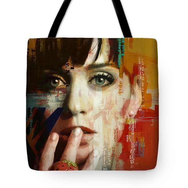 Katy Perry Tote Bag by Corporate Art Task Force