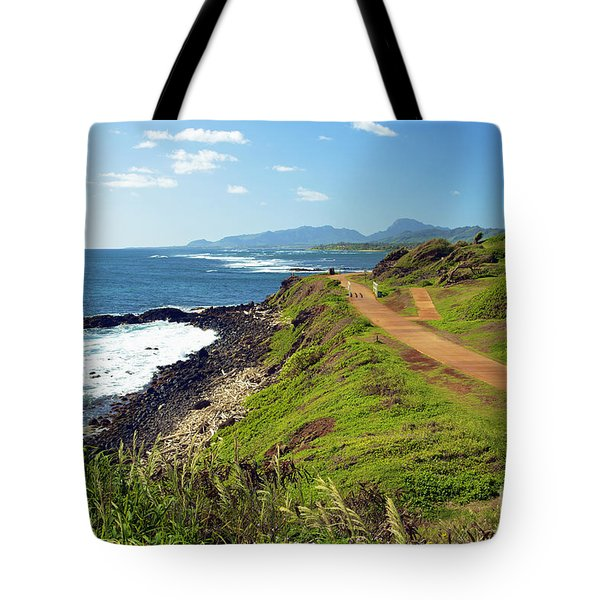 Kauai Coast Tote Bag by Kicka Witte