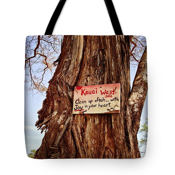 Kauai West Side Tote Bag by Scott Pellegrin